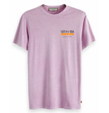 Scotch & Soda T-shirt 151265 paars