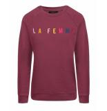 My Jewellery Sweatshirt mj00816 la femme paars