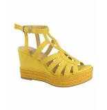 Bullboxer Sandalen met hak 175011f2t geel