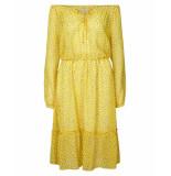 Lollys Laundry Jurk 19182-2071 city geel
