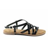 Lazamani 75.511. sandaal zwart