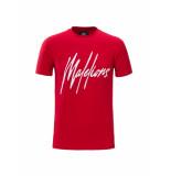 Malelions Signature t-shirt rood