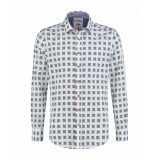 A Fish Named Fred Shirt-qr-code wit