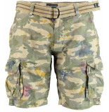 Dstrezzed Shorts with belt ripst 515109/511 - groen