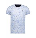 Gabbiano T shirt 15121 blue blauw