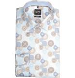 Olymp Hemden 209234/28 overhemd met lange licht blauw
