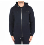 BALR. Qseries zipped hoodie blauw