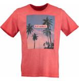 Basefield T-shirt 1/2 219014257/404 rood