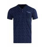 Gabbiano T shirt shortsleeve 15132 navy blauw