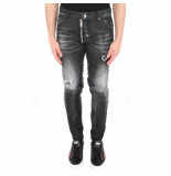 Dsquared2 2 5 pocket jeans zwart