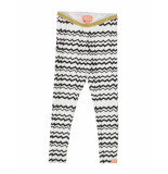 Funky XS Broek legging batik white wit