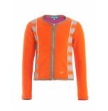 Ninni Vi Jasje classic look with zipper orange oranje