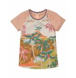 Scotch R'Belle T-shirt tropical island pink