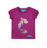 Oepsie T-shirt fuchsia