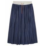 Scotch R'Belle Rok pleated skirt dark blue blauw