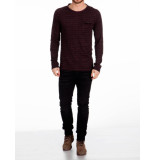 Pearly King T-shirt baltic burgundy rood