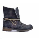 Only A Shoes veter-vachtlaarsje