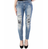Please Jeans p95 light blue blauw