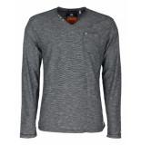 Noize T-shirt l/s based grey grijs