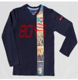 Boys in Control 302a marine shirt blauw
