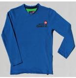 Boys in Control 305 cobalt shirt blauw