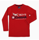 Boys in Control 501 red shirt rood