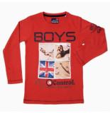 Boys in Control 502b oranje shirt