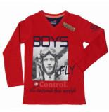 Boys in Control 503b rood shirt