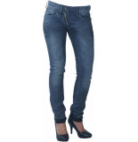 G-Star Lynn zip mid skinny grey denim-l32 grijs