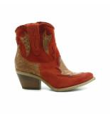 Mjus Laarzen rood