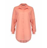 Expresso Blouse emmelien flamingo orange oranje