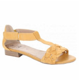 Caprice sandalet geel