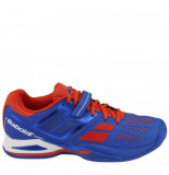 Babolat Tennisschoen propulse clay men blue red blauw