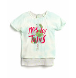 Scotch R'Belle T-shirt 2 in 1 style cropped mintgreen