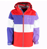 Color Kids Meisjes outdoorjas selda waterproof rood