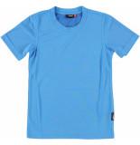 Maier Sports T-shirt van in de kleur blauw