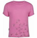 Icebreaker Roze tech t lite scatter peony t-shirt