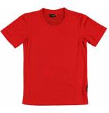 Maier Sports T-shirt van in de kleur rood