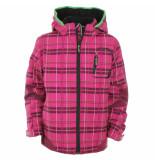 Color Kids Pink winter softshell jas jiazi wind- en waterproof roze