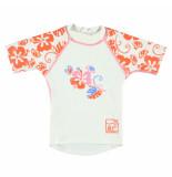 Sonpakkie Uv shirt flower vibes uv factor 60 wit
