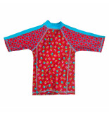Zee & Zo Zee & zo uv t-shirt baltrum rood