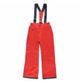 Color Kids Rode skibroek tanuna met 8.000mm waterkolom rood