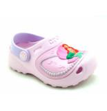 Crocs Ariel shells roze