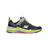 Skechers Schoen kevin black yellow zwart