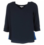 Grace & Mila Blouse mercure blauw