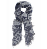 Circle of Trust W17.98.5950 franny scarf nightshade blauw