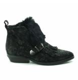 Mjus Laarzen zwart