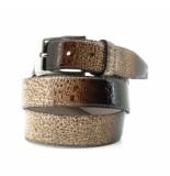 Scarpe Pazzo  Belt - brown drops bruin