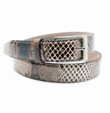 Scarpe Pazzo  Belt - brown timsah patent bruin