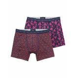 Scotch & Soda Boxer printed boxer set red/pink rood